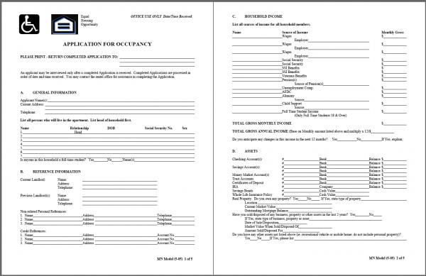 Lyman Manor Application PDF